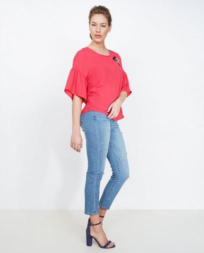 Lichtblauwe jeans